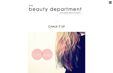 http://thebeautydepartment.com/2012/01/chalk-it-up/