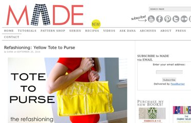 http://www.danamadeit.com/2010/09/refashioning-yellow-tote-to-purse.html