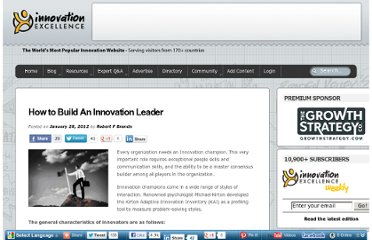 http://www.innovationexcellence.com/blog/2012/01/28/how-to-build-an-innovation-leader/