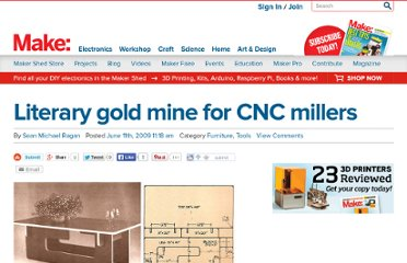 http://blog.makezine.com/2009/06/11/literary-gold-mine-for-cnc-millers/