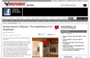 http://blogs.independent.co.uk/2012/01/25/james-joyces-ulysses-the-beginning-of-an-epiphany/