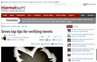 http://memeburn.com/2012/01/seven-top-tips-for-verifying-tweets/