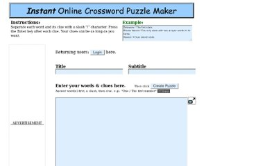 http://en.puzzle-maker.com/crossword_Entry.cgi