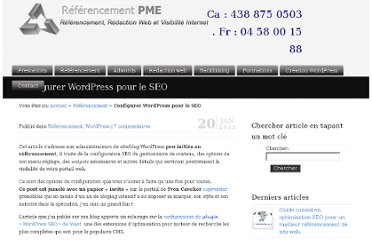 http://referencement-pme.ca/configurer-cms-wordpress-pour-seo/