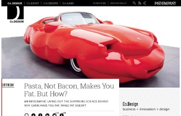 http://www.fastcodesign.com/1668916/pasta-not-bacon-makes-you-fat-but-how