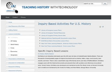 http://www.thwt.org/index.php/lessons-activities/us-history
