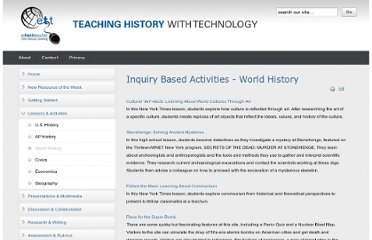http://www.thwt.org/index.php/lessons-activities/world-history