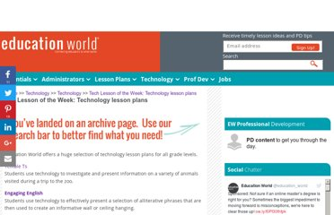http://www.educationworld.com/a_tech/archives/techlp.shtml