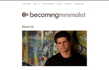 http://www.becomingminimalist.com/about-us/