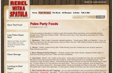 http://www.rebelspatula.com/index.php/paleo/79-paleo-party-foods