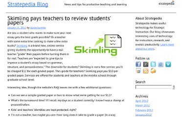 http://blog.stratepedia.org/2012/01/23/skimling-pays-teachers-to-review-students-papers/