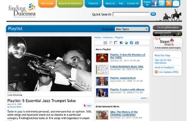 http://www.findingdulcinea.com/features/arts/music/playlist/2008/october/Five-Essential-Jazz-Trumpet-Solos.html