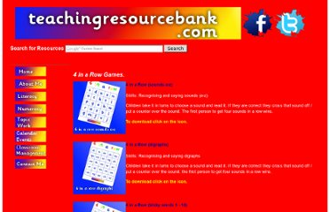 http://www.teachingresourcebank.com/4inarow#tricky4inarow