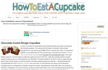http://www.howtoeatacupcake.net/2009/01/chocolate-cookie-dough-cupcakes.html