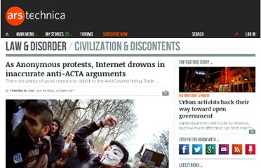 http://arstechnica.com/tech-policy/news/2012/01/internet-awash-in-inaccurate-anti-acta-arguments.ars