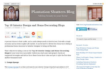 http://www.buyplantationshutters.com/blog/18-interior-design-home-decorating-blogs/