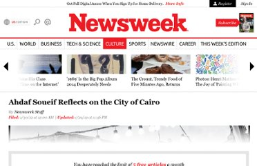 http://www.thedailybeast.com/newsweek/2012/01/29/ahdaf-soueif-reflects-on-the-city-of-cairo.html