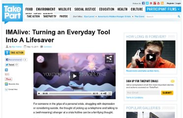 http://www.takepart.com/article/2011/05/13/imalive-turning-everyday-tool-lifesaver