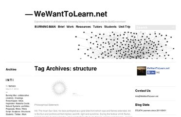 http://wewanttolearn.wordpress.com/tag/structure/