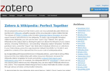 http://www.zotero.org/blog/zotero-wikipedia-perfect-together/