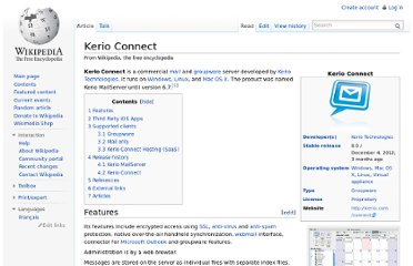 http://en.wikipedia.org/wiki/Kerio_Connect