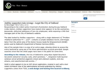 http://www.thetechherald.com/articles/AntiSec-supporters-take-revenge-target-the-City-of-Oakland/14931/