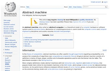 http://en.wikipedia.org/wiki/Abstract_machine