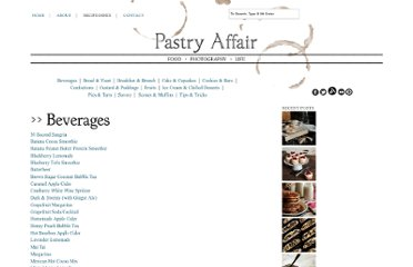 http://www.pastryaffair.com/recipe-index/
