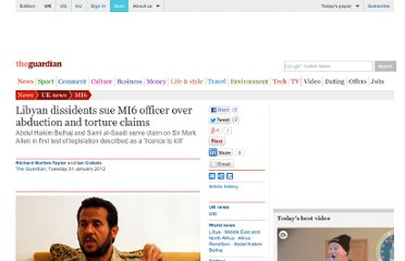 http://www.guardian.co.uk/world/2012/jan/31/libyan-dissidents-sue-mi6-officer