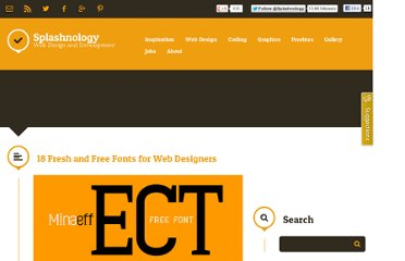 http://www.splashnology.com/article/18-fresh-and-free-fonts-for-web-designers/2582/
