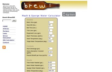http://www.brew365.com/mash_sparge_water_calculator.php