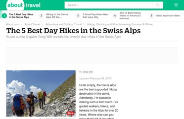 http://adventuretravel.about.com/od/hikingwalking/a/Hike_Swiss_Alps.htm