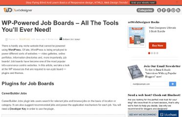 http://www.1stwebdesigner.com/wordpress/wordpress-job-boards-tools/