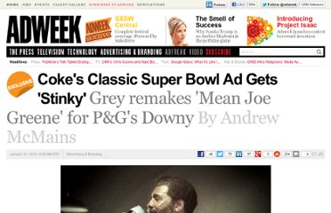 http://www.adweek.com/news/advertising-branding/cokes-classic-super-bowl-ad-gets-stinky-137882