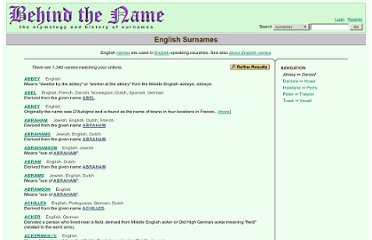 http://surnames.behindthename.com/names/usage/english