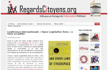 http://www.regardscitoyens.org/conference-internationale-%c2%ab-open-legislative-data-%c2%bb-a-paris-en-juillet/