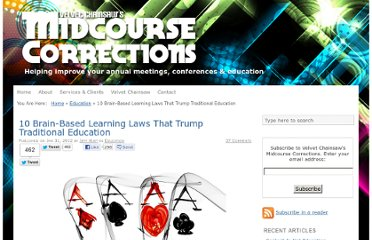 http://jeffhurtblog.com/2012/01/31/10-brainbased-learning-laws-that-trump-traditional-education/