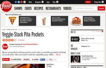 http://www.foodnetwork.com/recipes/food-network-kitchens/veggie-stack-pita-pockets-recipe/index.html