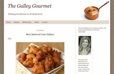 http://www.thegalleygourmet.net/2012/01/beer-battered-corn-fritters.html