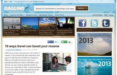 http://www.gadling.com/2012/01/31/10-ways-travel-can-boost-your-resume/