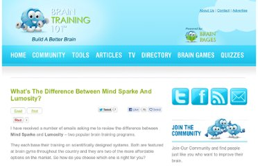 http://www.braintraining101.com/mind-sparke-and-lumosity/