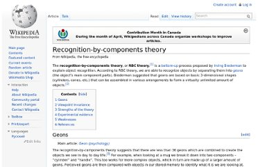 http://en.wikipedia.org/wiki/Recognition-by-components_theory