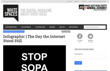 http://unclutteredwhitespaces.com/2012/02/infographic-the-day-the-internet-stood-still/