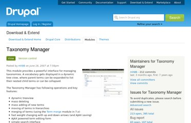 http://drupal.org/project/taxonomy_manager