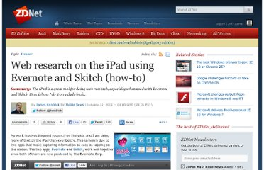 http://www.zdnet.com/blog/mobile-news/web-research-on-the-ipad-using-evernote-and-skitch-how-to/6655