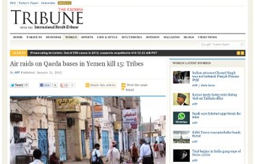 http://tribune.com.pk/story/329804/air-raids-on-qaeda-bases-in-yemen-kill-15-tribes/