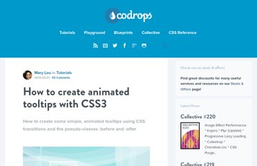http://tympanus.net/codrops/2012/02/01/how-to-create-animated-tooltips-with-css3/