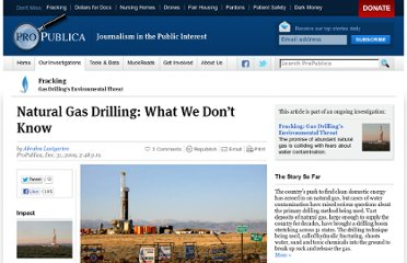 http://www.propublica.org/article/natural-gas-drilling-what-we-dont-know-1231