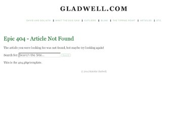 http://www.gladwell.com/dog/index.html