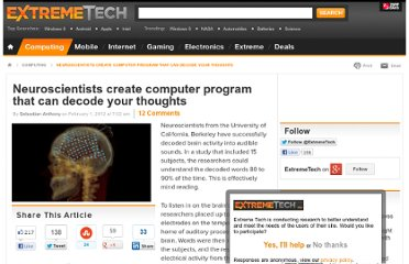 http://www.extremetech.com/extreme/116447-neuroscientists-create-computer-program-that-can-decode-your-thoughts